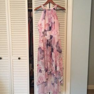 Eliza J high-low floral dress, size 8